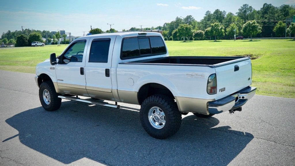 great shape 2001 Ford F 250 Limited lifted