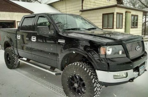 lifted 2004 Ford F 150 pickup for sale