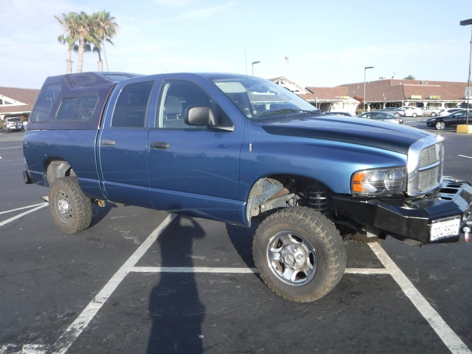 low miles 2004 Dodge Ram 2500 SLT lifted for sale