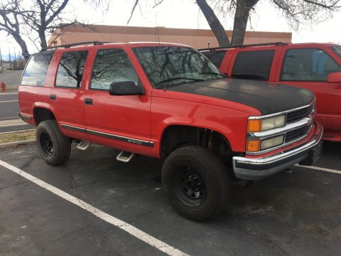needs trans overhaul 1996 Chevrolet Tahoe lifted for sale