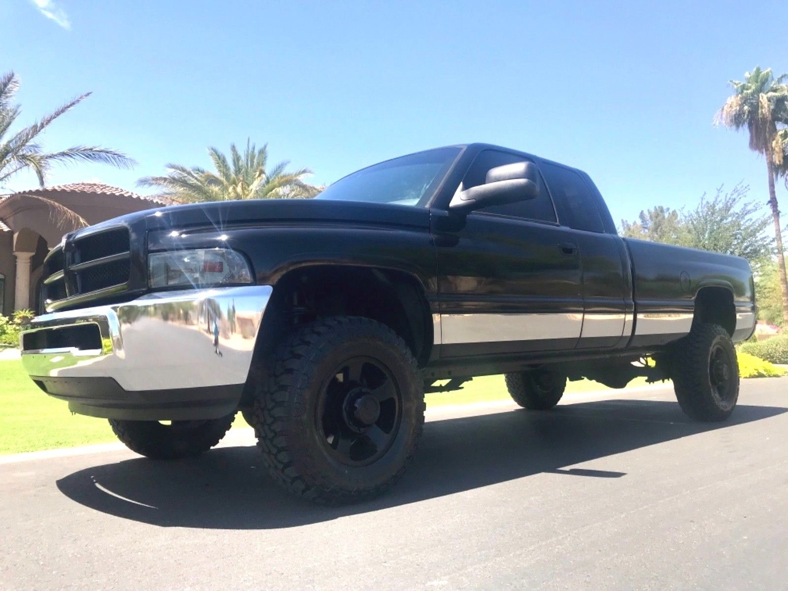 new parts 2001 Dodge Ram 2500 2500 Quad Cab lifted for sale