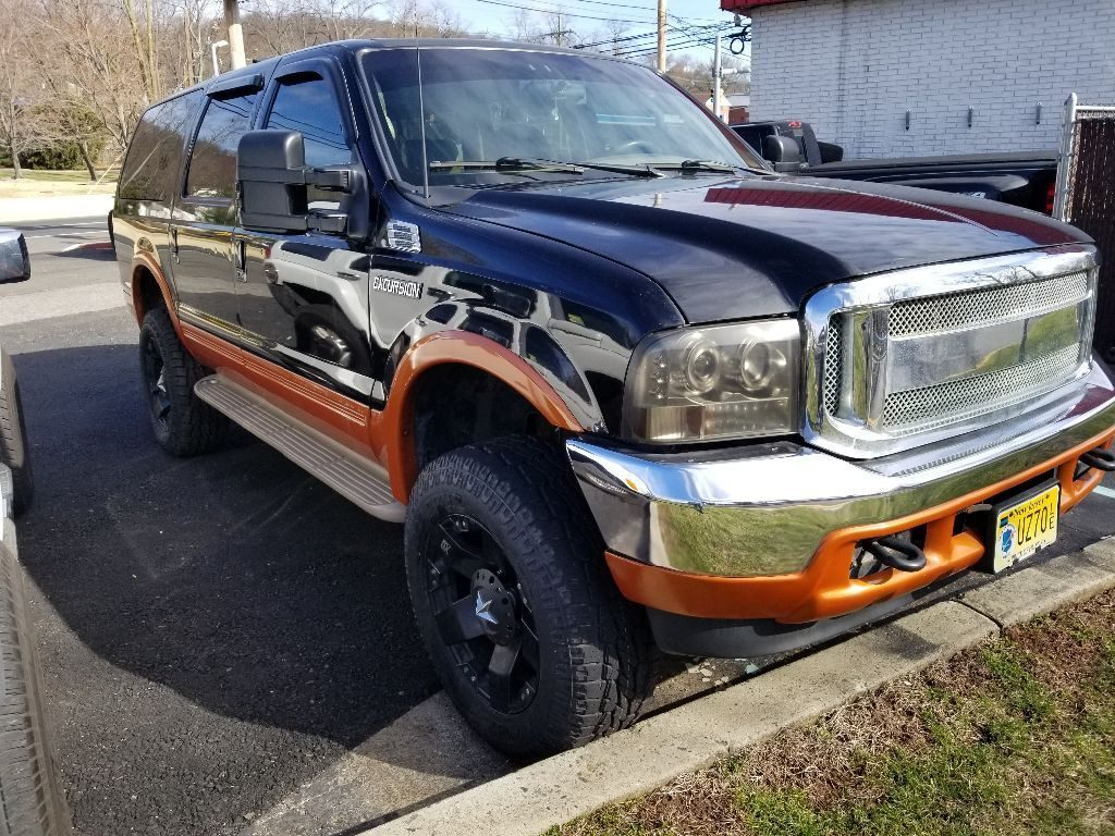 new transmission 2000 Ford Excursion lifted