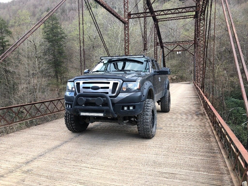some additions 2004 Ford F 150 FX4 Super Cab lifted for sale