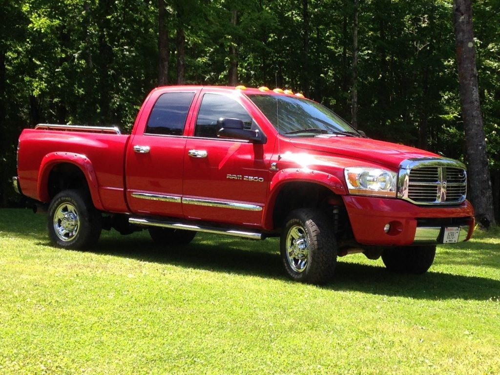 2006 Dodge Ram 2500 Laramie lifted