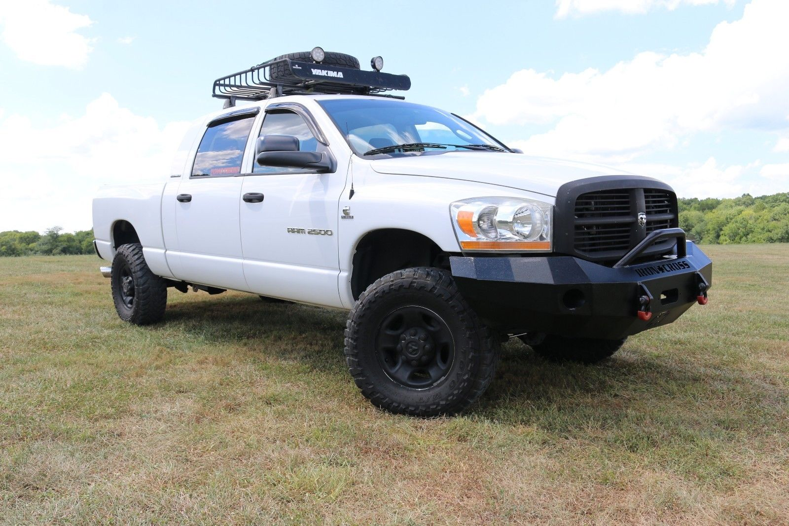 low miles 2006 Dodge Ram 2500 SLT lifted for sale