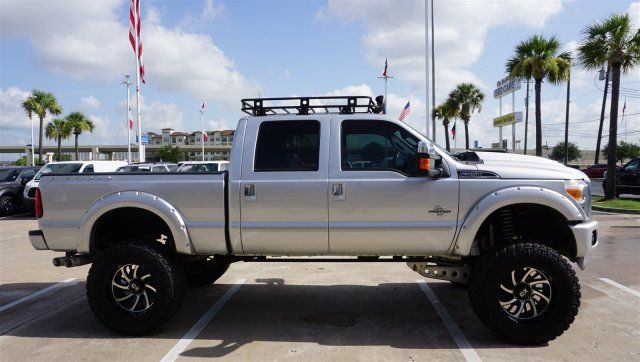 low miles 2016 Ford F 250 PLATINUM lifted