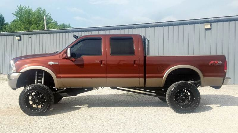 many upgrades 2005 Ford F 250 King Ranch lifted
