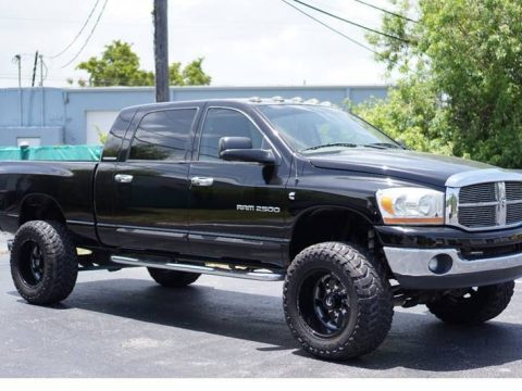 modified 2006 Dodge Ram 2500 SLT lifted for sale