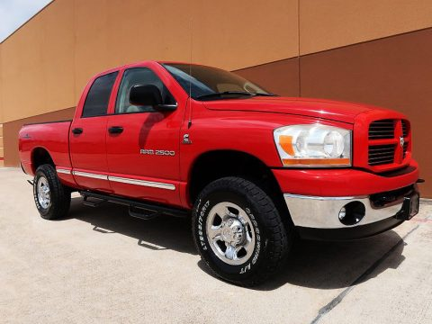 rust free 2006 Ram 2500 SLT lifted for sale