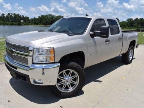 custom wheels 2007 Chevrolet Silverado 1500 LT lifted for sale