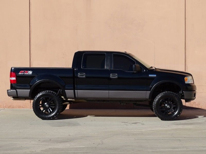 great shape 2007 Ford F 150 FX4 lifted