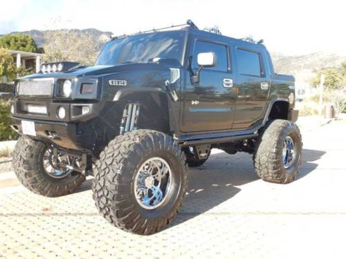 loaded 2005 Hummer H2 Base 4WD lifted for sale