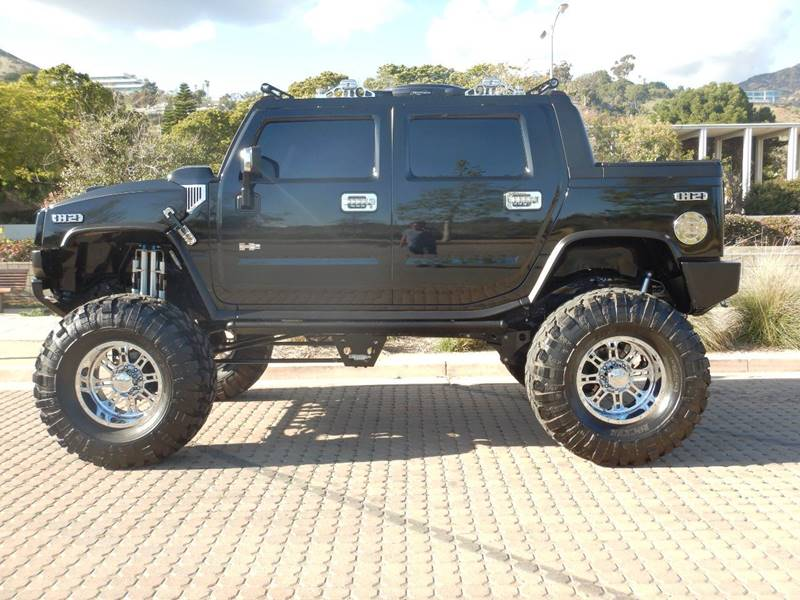 loaded 2005 Hummer H2 Base 4WD lifted