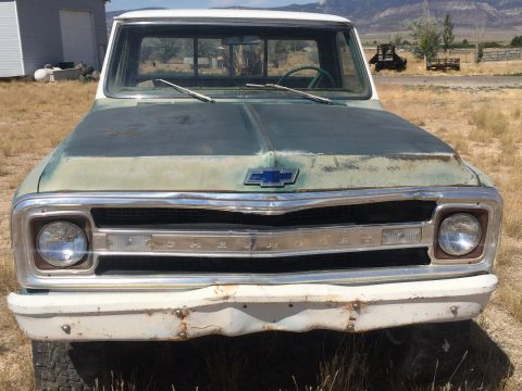 missing drivetrain 1969 Chevrolet C 10 Short Bed lifted for sale