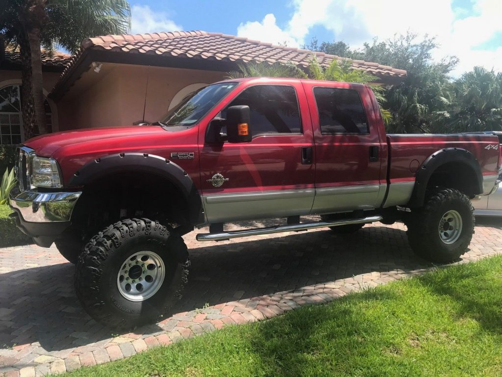 phenomenal 2003 Ford F 250 XLT lifted