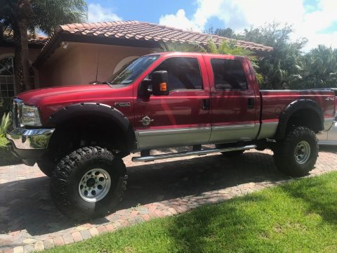 phenomenal 2003 Ford F 250 XLT lifted for sale