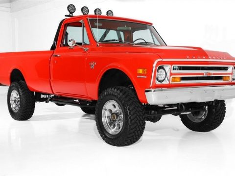 restored 1968 Chevrolet Pickup K20 lifted for sale