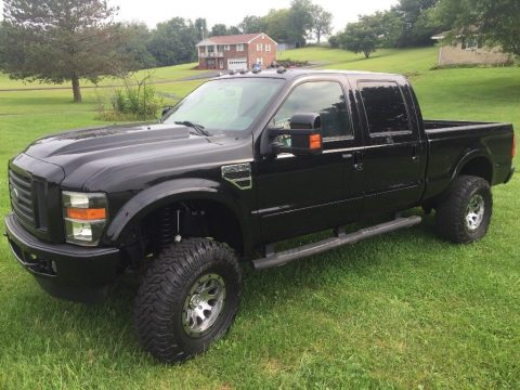very nice 2008 Ford F 250 monster lifted truck for sale