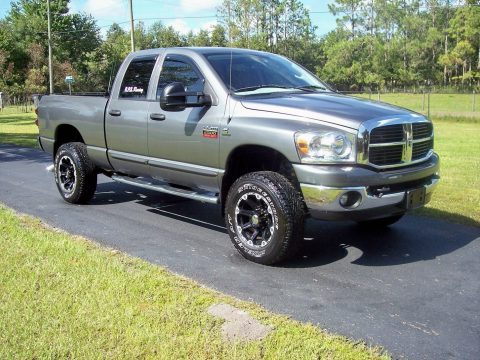 well equipped 2007 Dodge Ram 2500 Thunder Road Package lifted for sale