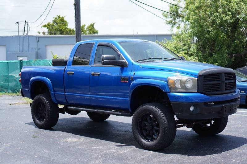 clean 2008 Dodge Ram 2500 SLT lifted
