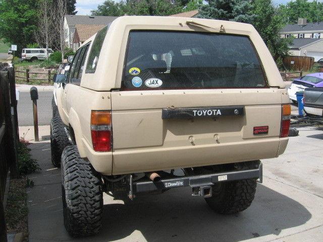 custom 1988 Toyota 4Runner lifted