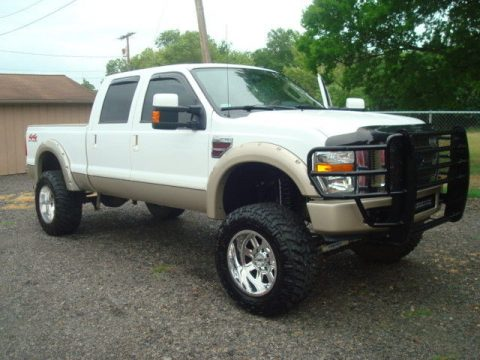 decent mileage 2008 Ford F 250 KING RANCH lifted for sale