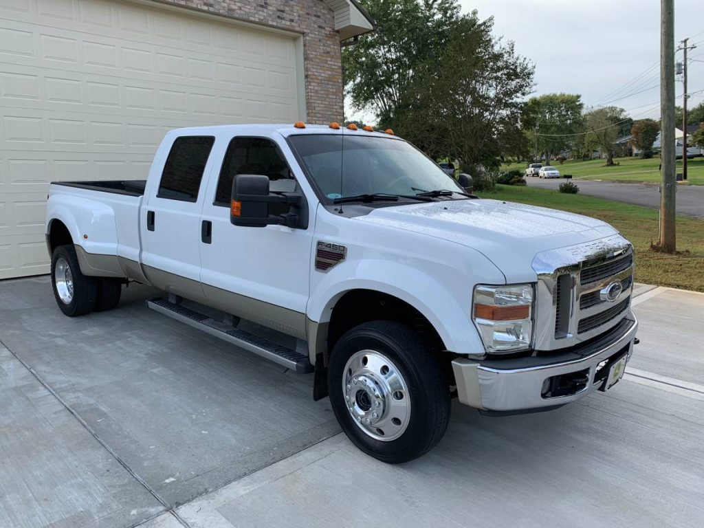 loaded 2008 Ford F 450 Lariat lifted