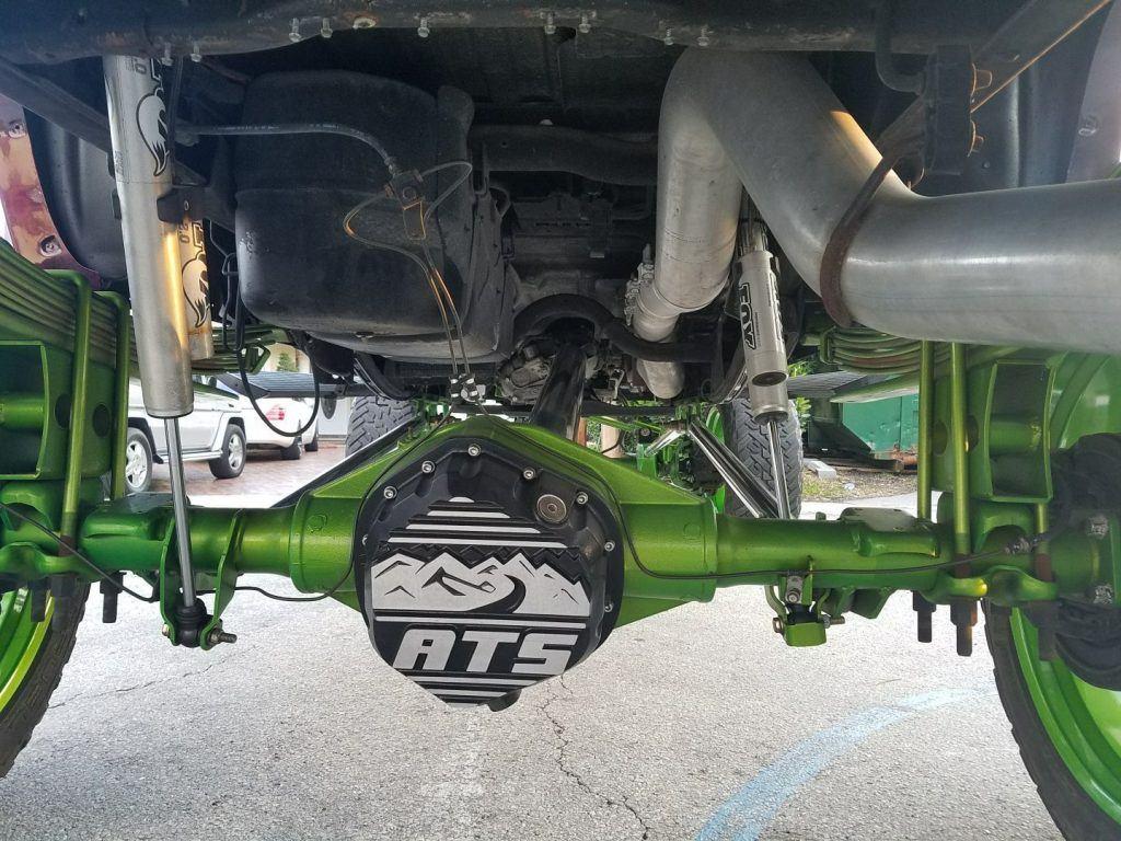 monster 2007 Chevrolet Silverado 2500 lifted truck