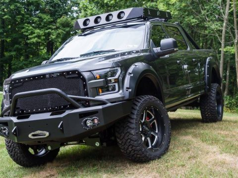 nicely upgraded 2016 Ford F 150 Super Crew Cab lifted for sale
