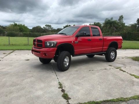 solid 2008 Dodge Ram 2500 Sport pickup lifted for sale
