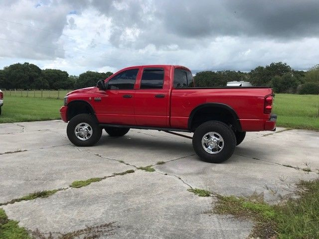 solid 2008 Dodge Ram 2500 Sport pickup lifted