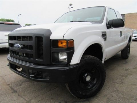 solid 2008 Ford F 250 XL Supercab pickup lifted for sale