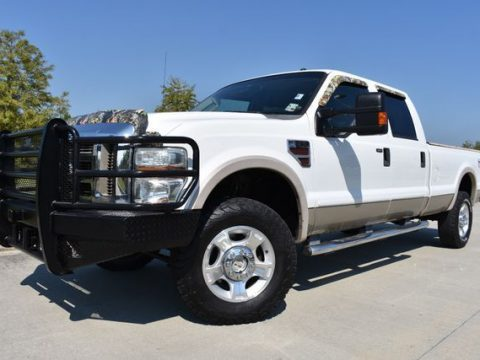 very clean 2008 Ford F 350 Lariat lifted for sale