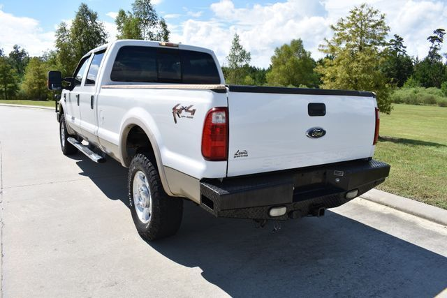 very clean 2008 Ford F 350 Lariat lifted