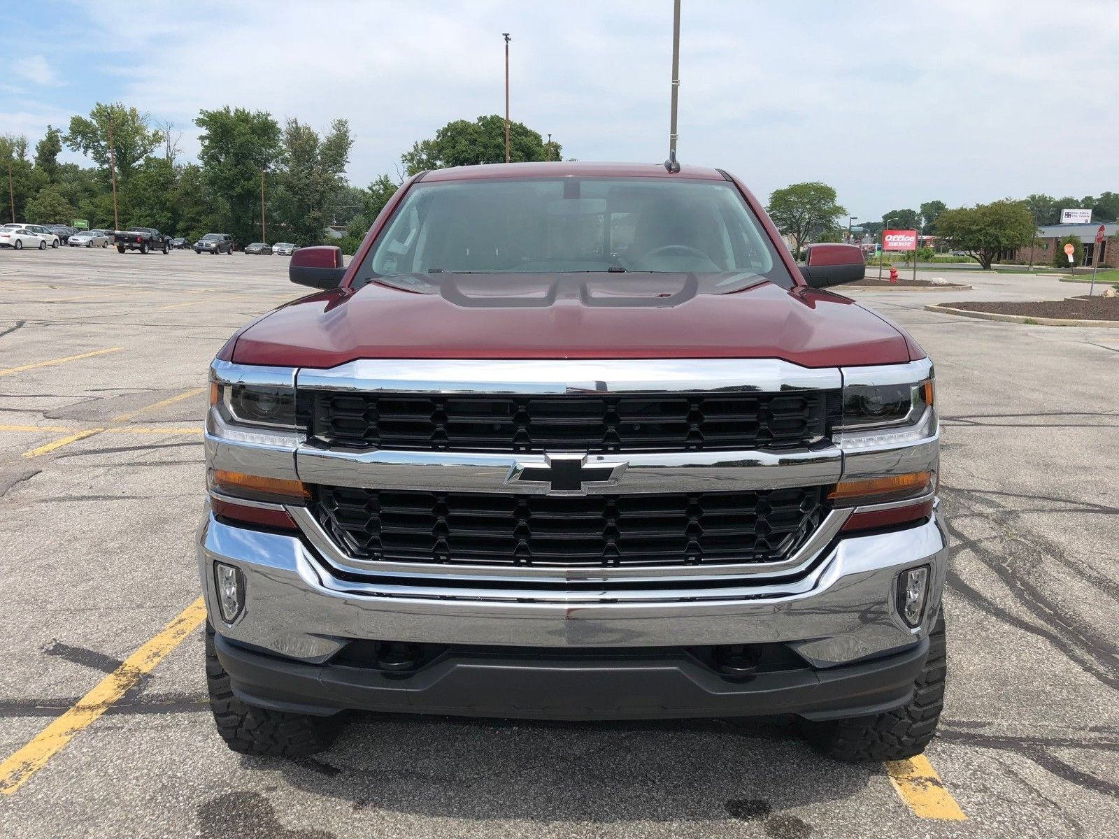 very clean 2016 Chevrolet Silverado 1500 LT All Star lifted for sale
