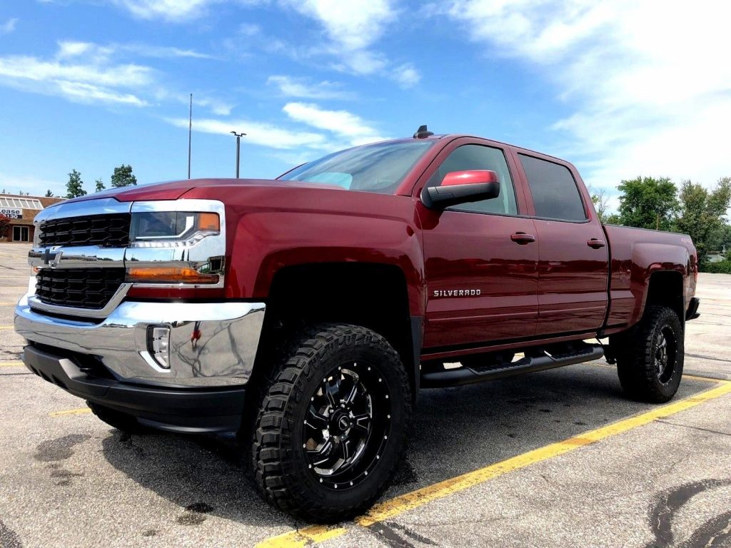 very clean 2016 Chevrolet Silverado 1500 LT All Star lifted