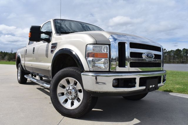 very nice 2008 Ford F 250 Lariat lifted