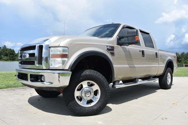 very nice 2008 Ford F 350 Lariat lifted