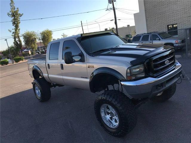 absolutely rust free 1999 Ford F 250 XLT lifted pickup for sale