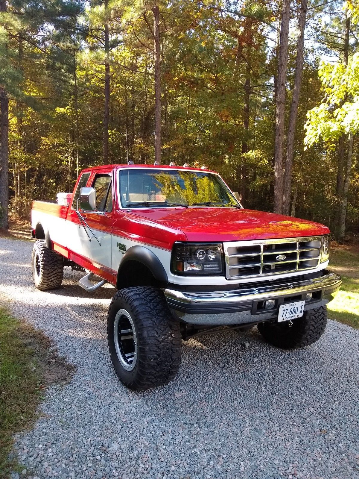 clean 1997 Ford F 250 lifted pickup for sale