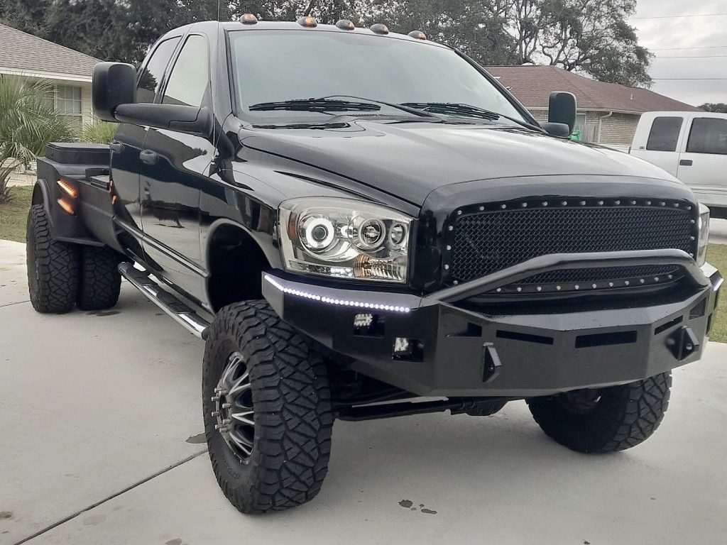 monster 2007 Dodge Ram 3500 slt custom lifted
