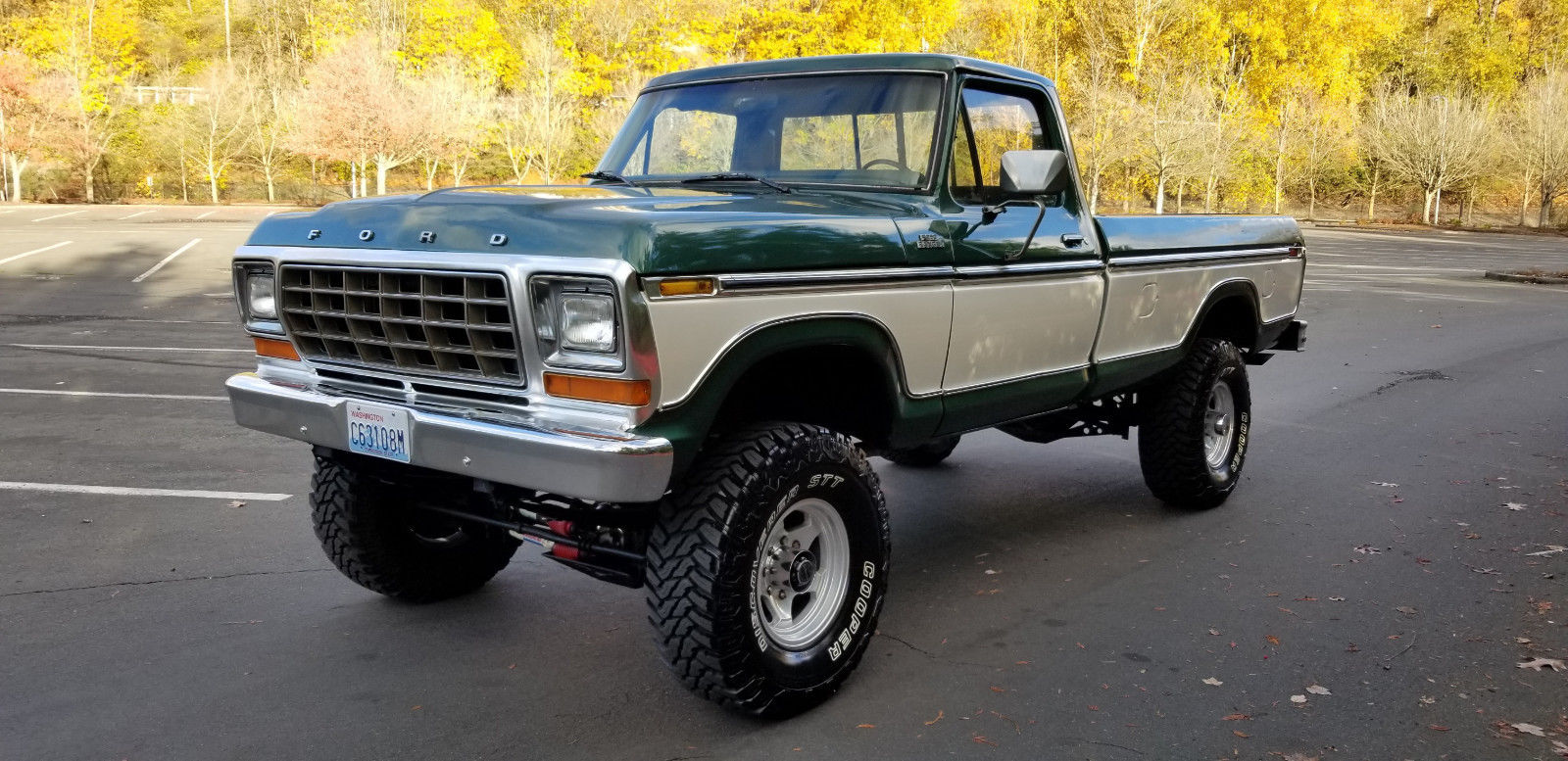 vintage 1979 Ford F 250 Ranger lifted for sale