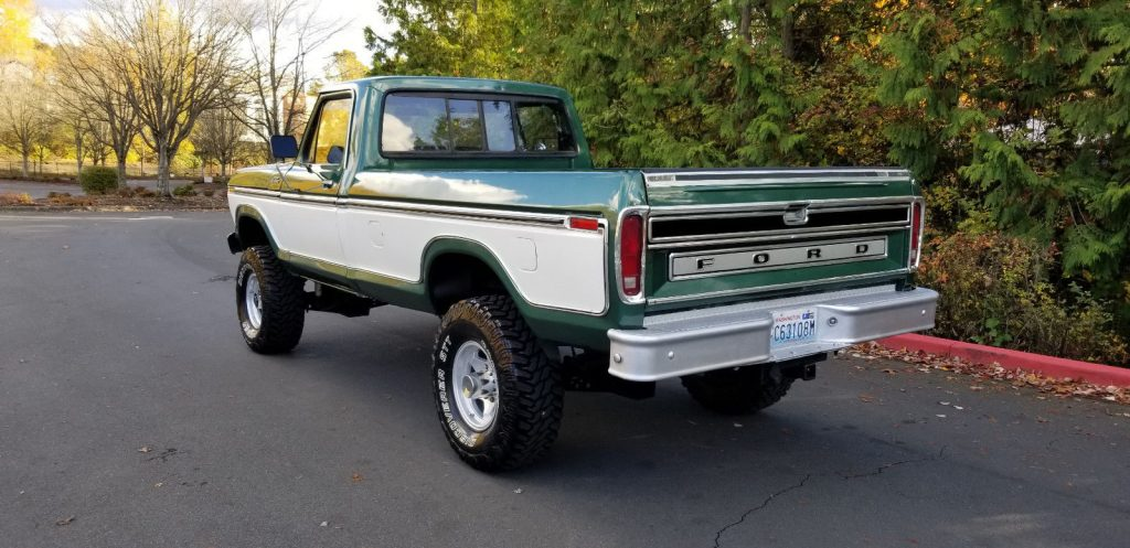 vintage 1979 Ford F 250 Ranger lifted