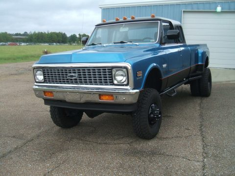 custom built 1972 Chevrolet C/K Pickup 3500 lifted for sale