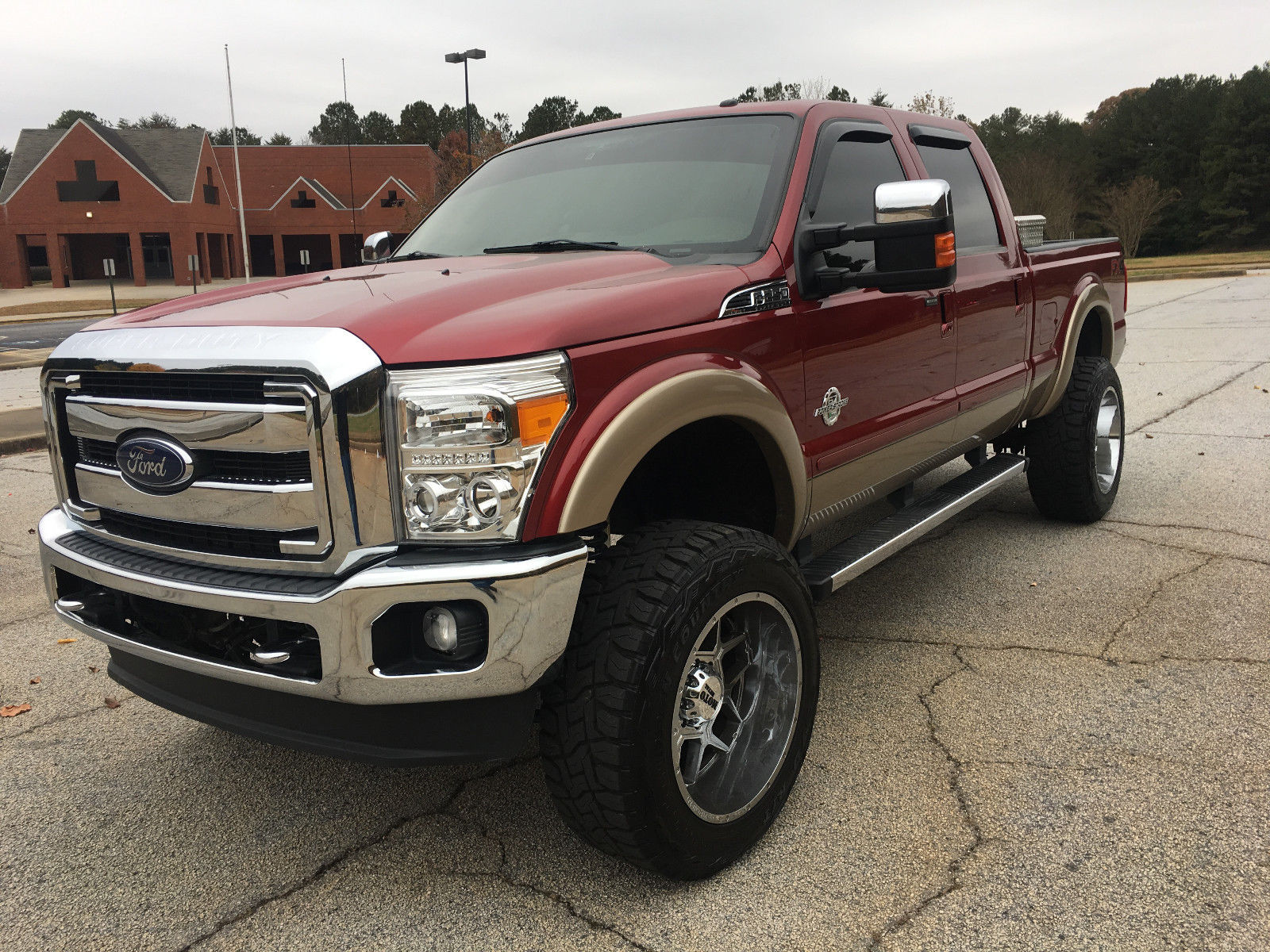 every option available 2014 Ford F 250 Lariat lifted for sale