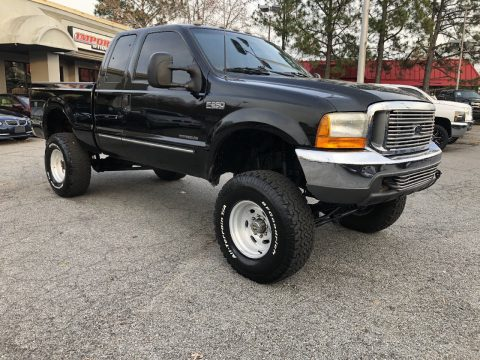 loaded 2000 Ford F 250 Lariat lifted for sale