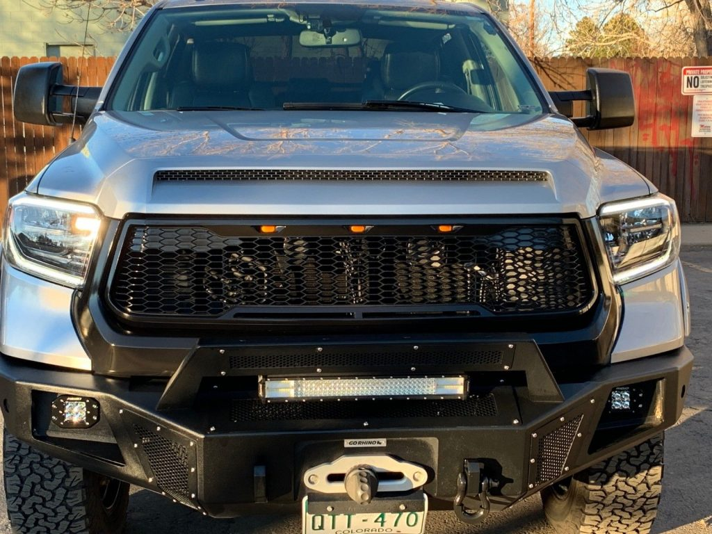 loaded 2014 Toyota Tundra Limited lifted