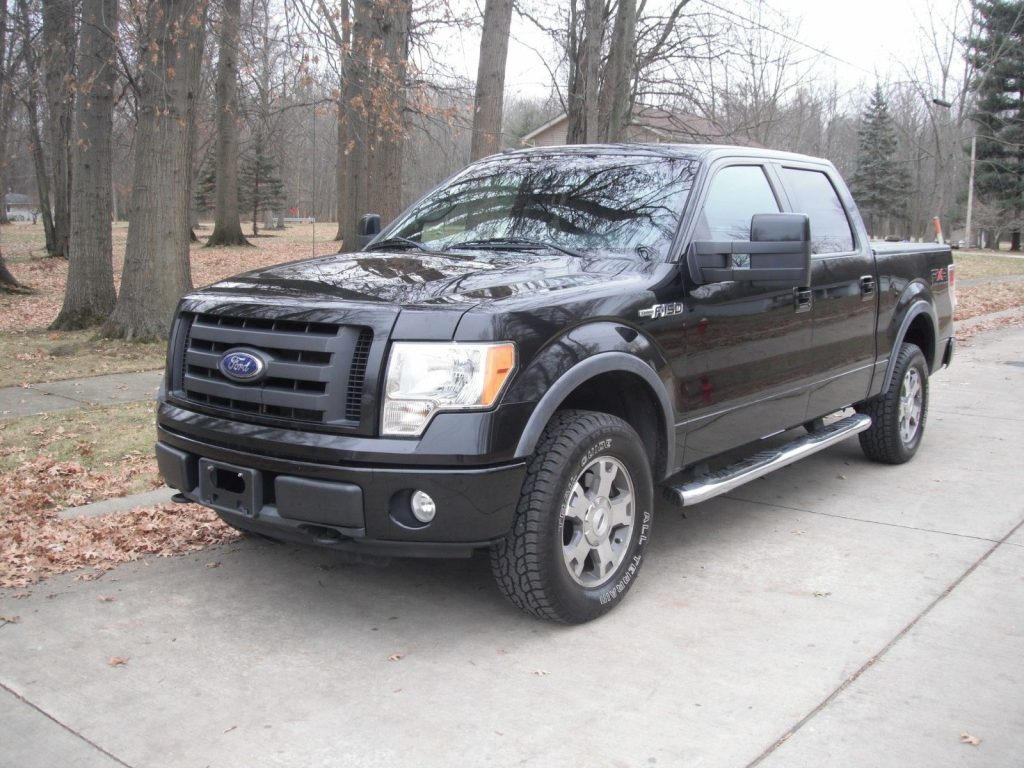 loaded with goodies 2010 Ford F 150 FX4 Supercrew lifted
