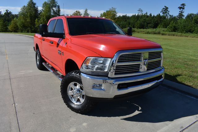 nice and clean 2010 Dodge Ram 2500 SLT lifted