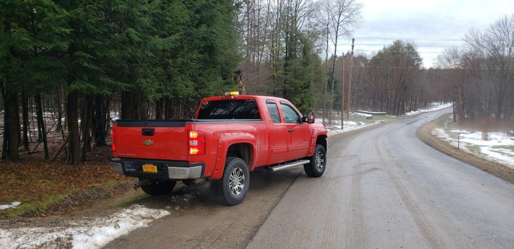 no issues 2010 Chevrolet Silverado 2500 LT lifted